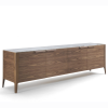 Atlanta 4 sideboard designed by Carlo Ballabio for Porada