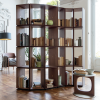 Demetra is a modular bookcase designed by Gino Carollo for Porada
