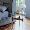 Joint side table designed by Marconato Zappa for Porada