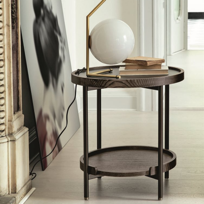Koster side table designed by S. Tollgard for Porada