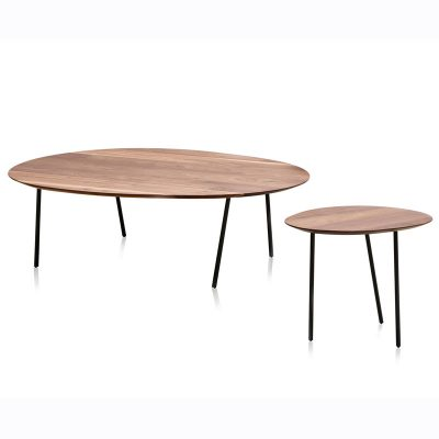 Newton side and coffee table designed for Papadatos