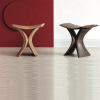 Torii stool designed by Gino Carollo for Porada