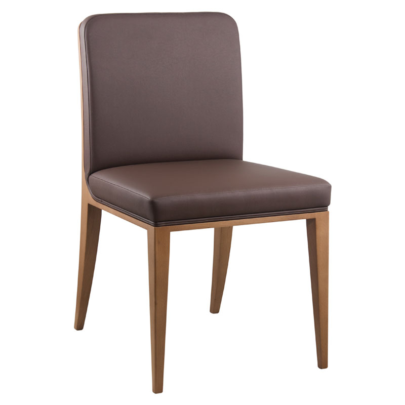 Golden side chair designed by CMC